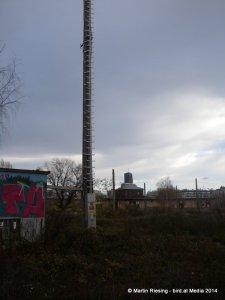 Antennenmast Wasserturm und DC1 gestaffelt